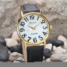 2017 Women Retro Digital Dial Leather Band Quartz Analog Wrist Watch Watches Ladies Watch Women Perfect Gift Relogio Feminino