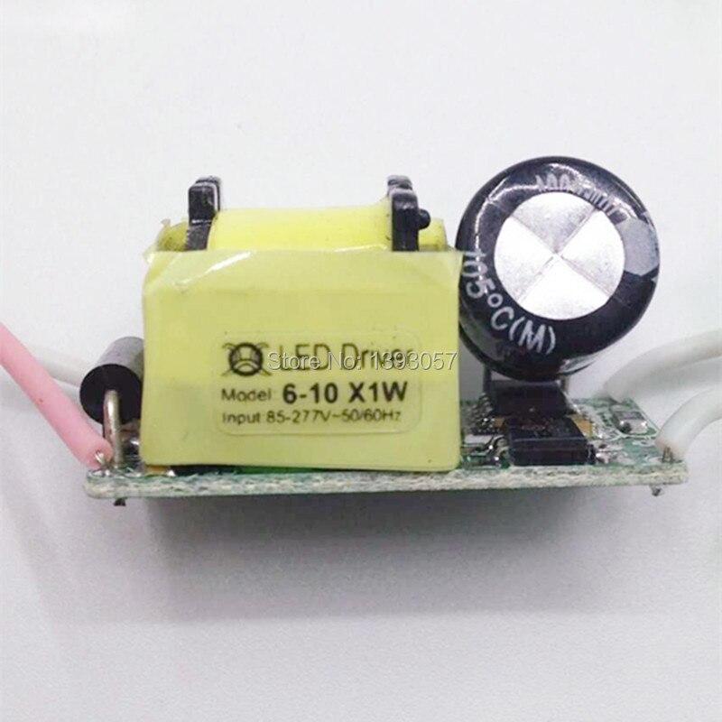 10pcs / lot 6-10x1W LED drajver, 300MA LED transformator 6x1W 7x1W - Različiti rasvjetni pribor - Foto 2