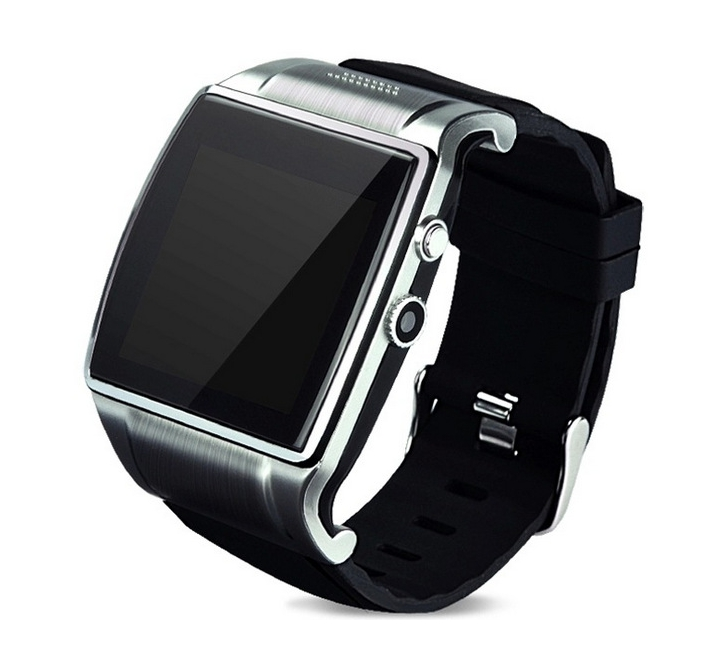 metal font b smart b font watch SIM TF bluetooth for apple Android phone smartwatch iphone