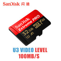 SanDisk Extreme Pro Micro SD 32g MicroSDHC MicroSDXC UHS I Memory Card 95MB S Class10 U3
