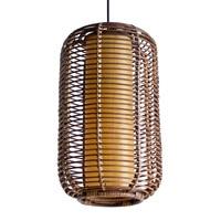 Handmade Southeast Asia Lantern Rattan Living Room Pendant Light Modern Free Shipping Pendant lamp Restaurant Pedant Lighting