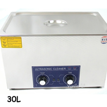 600W 30L Ultrasonic Cleaner Stainless Steel Cleaning Appliance with Mesh Basket PS-100