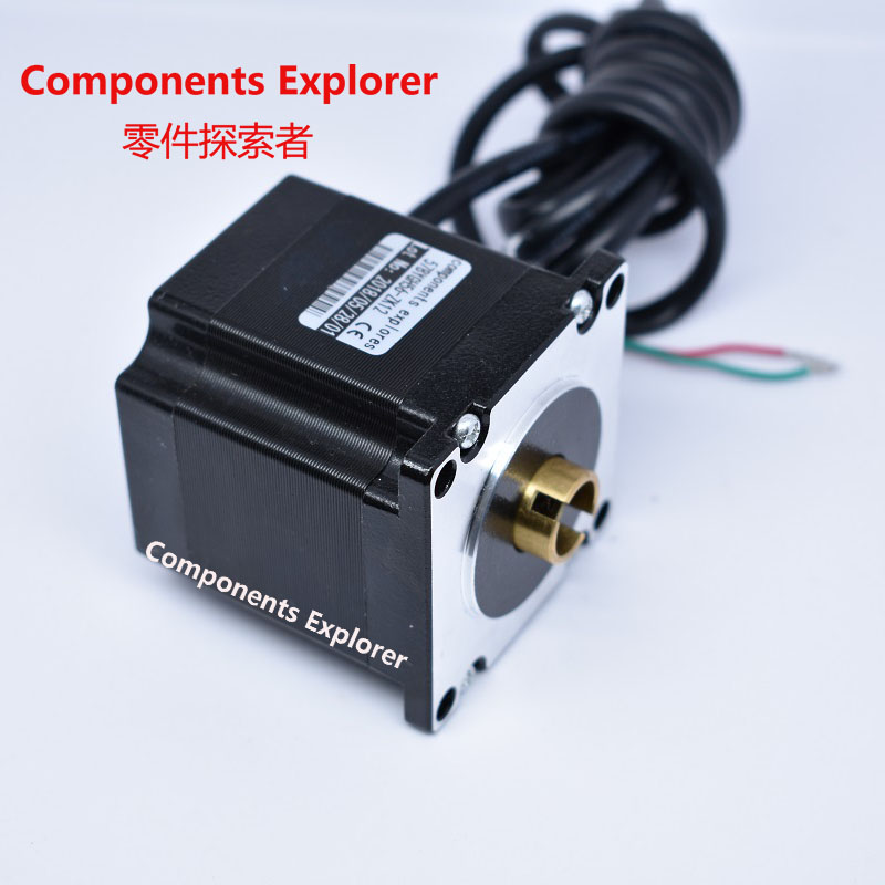 nema23 Hollow Shaft Stepper Motor for Bespoke Ball Screw or Lead Screw for CE ROSH ISO CNC Laser and 3D printer