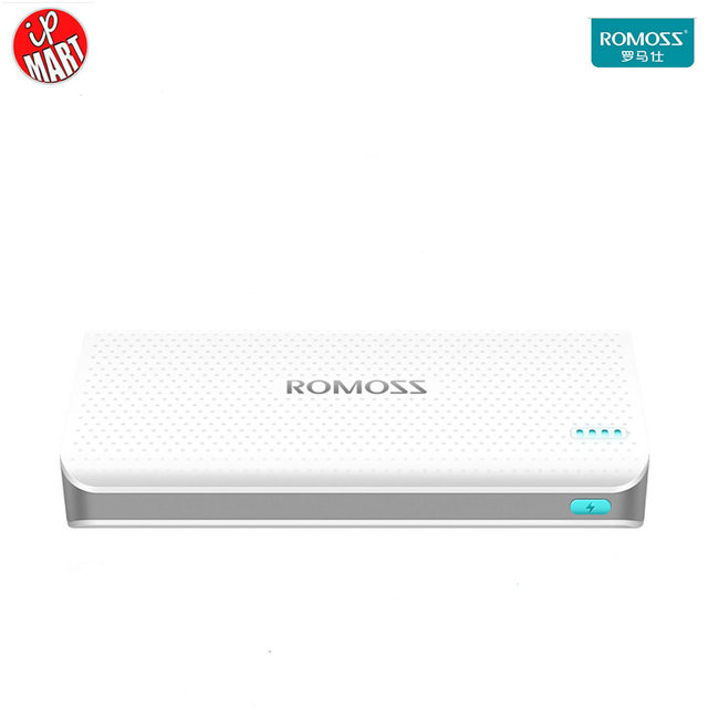 ROMOSS Sense15 15000mAh  Power Bank Protable Power Bank External Battery Pack Power Bank For i6s iphone Samsung Android Tablet