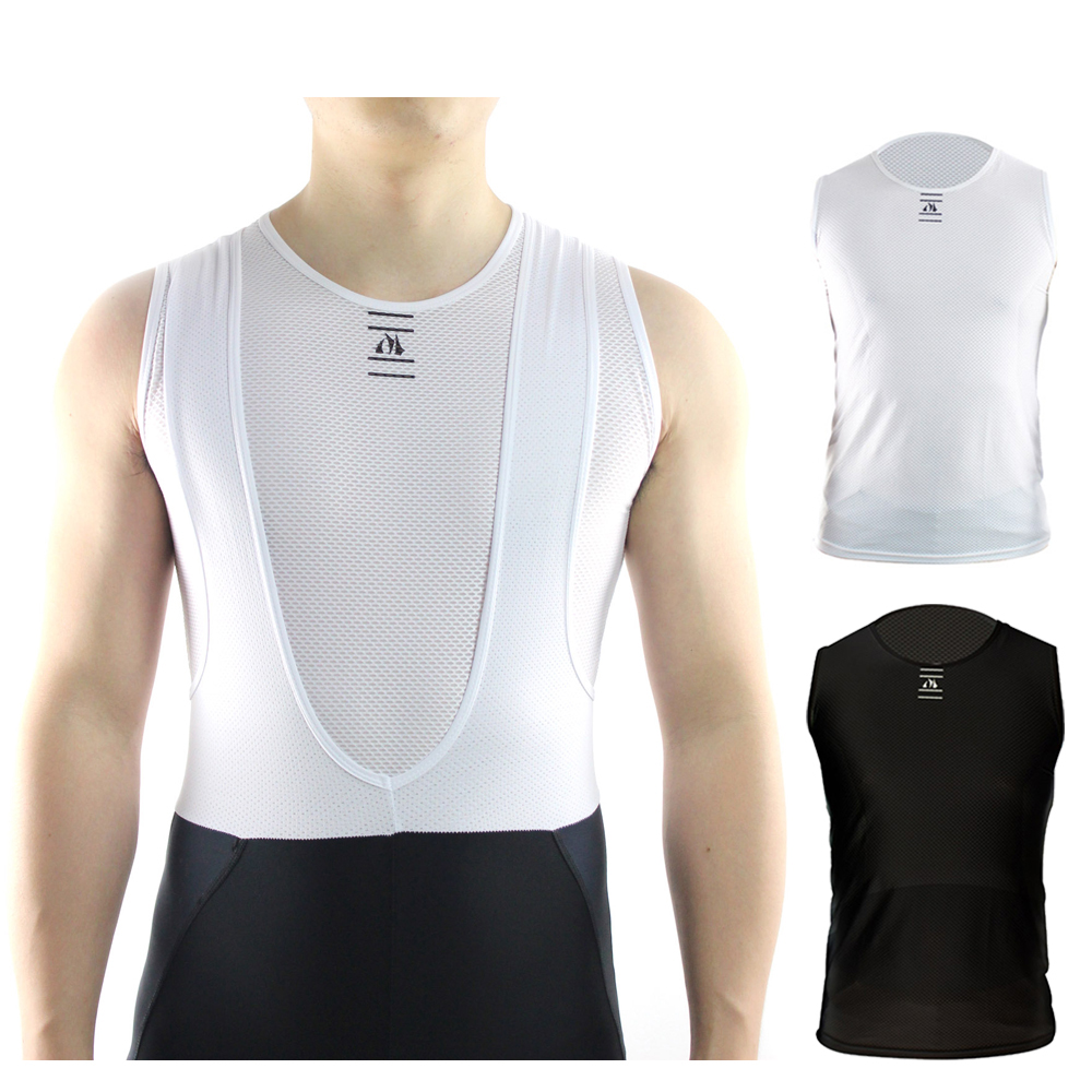 Racmmer 2018 Pro Bike Cool Mesh Superlight Underwear Vest Base Layers Bicycle Sleeveless Shirt Highly Breathbale Cycling Jersey цена в Москве и Питере
