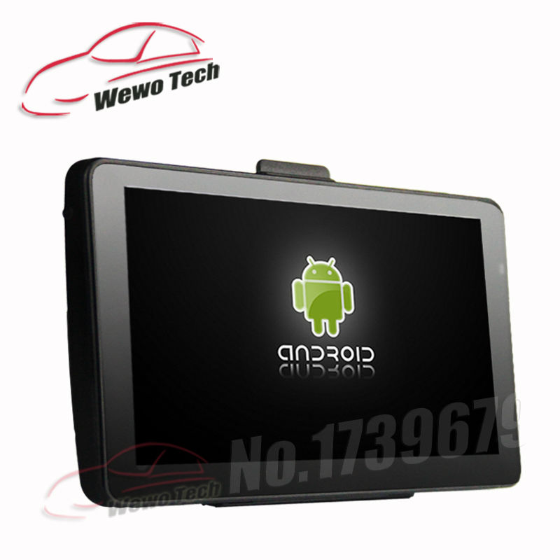 7 Inch Car GPS Navigation  8GB 512MB Android 4.4.2 AV-IN WIFI FM Function Tablet PC Truck vehicle gps Free Map 7 inch gps navigation android 512mb 8gb car dvr camera 1080p recorder truck vehicle gps free map quad core tablet pc vehicle gps