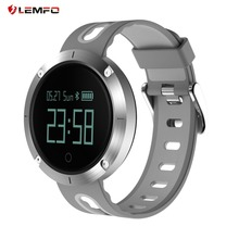 LEMFO T1 Heart Rate Blood Pressure Monitoring Smart Watch Step Counter Calorie Distance Tracker Gesture Activated Screen
