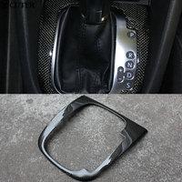 Golf 6 Carbon Fiber Gear Knob Cover for VW Volkswagen Golf 6 GTI Golf R20 Free shipping
