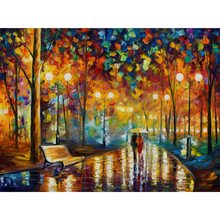 Autumn scenery  puzzle 1000 pieces ersion wood puzzle jigsaw puzzle white card adult children's educational toys puzzle game