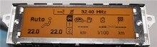 Экран поддержка USB Dual-zone air Bluetooth Дисплей желтый монитор 12 pin для Peugeot 307 407 408 citroen C4 C5 экран