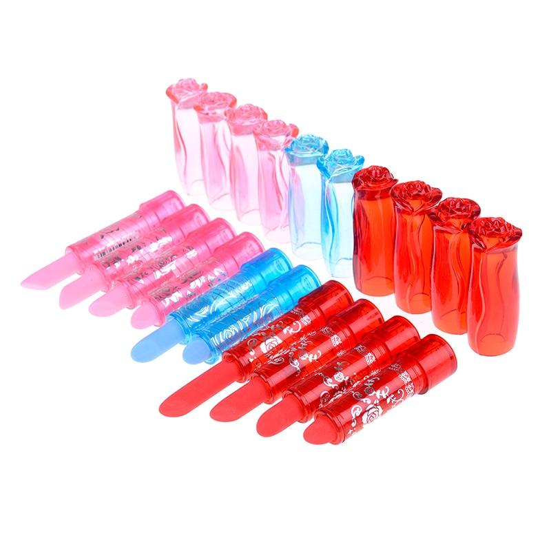 2pcs Creative lipstick cute kawaii rubber eraser for kids gift stationery