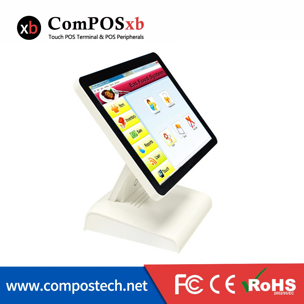 Best Rated 15 Inch All In One Touchscreen Desktop Computers Pos Terminal For Cshier Register