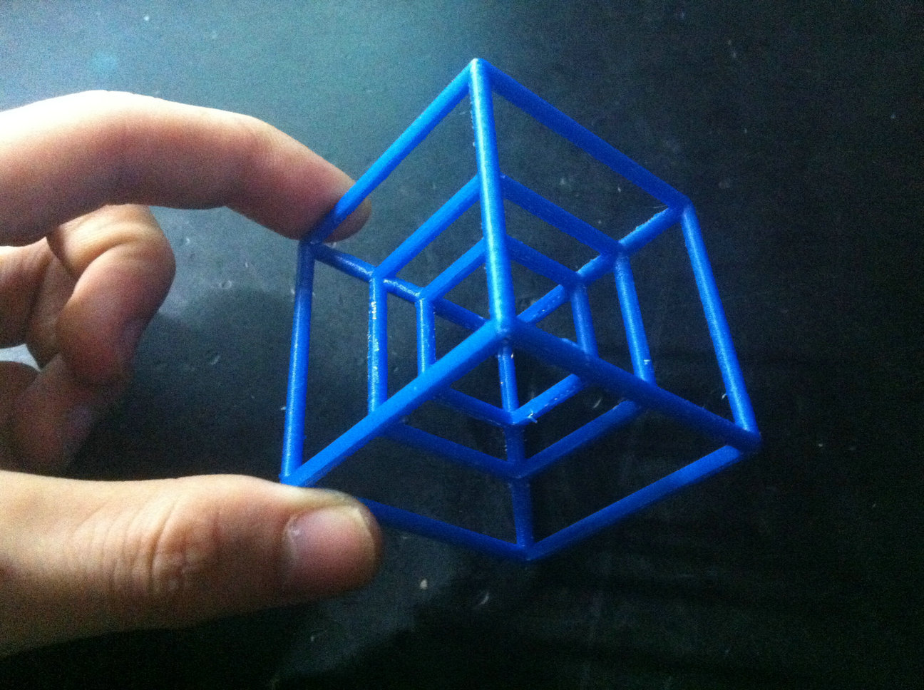 tesseract hypercube cube 4 dimensions 4d cube 3d printed products