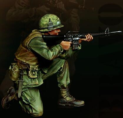 1/35 Resin Kits Vietnam War US Army Soldier Combat 1pc