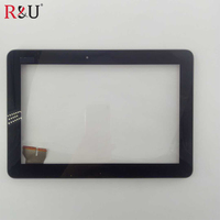 Touch Screen Digitizer Glass With Frame For ASUS Pad TF103CG K018 BLACK Color