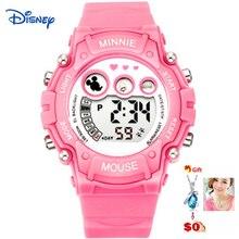 Disney 2017 de mickey niños relojes digitales reloj vestido reloj famoso de la marca niños niñas relojes montre femme reloj mujer gato un