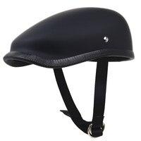 Japanese Style Retro Motorcycle helmet Light weight Fiberglass Motor helmet 650g only Berets helmet for adults rider