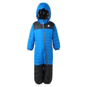 Image 2 - Moomin muumi bleu hiver ensemble garçons hiver combinaison imperméable 160 cm chaud garçons hiver ensemble enfant 20 degrés dessin animé ensemble
