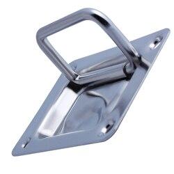 Нержавеющая сталь лодка Лифт ручка морской яхты шкафчик тянуть кольцо 3