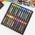 Mungyo Metallico E Fluorescente 12/24 Colori Gallary Artisti Pastelli Ad Olio Mop Serie Pittura Ad Olio di Arte Disegno Pastelli