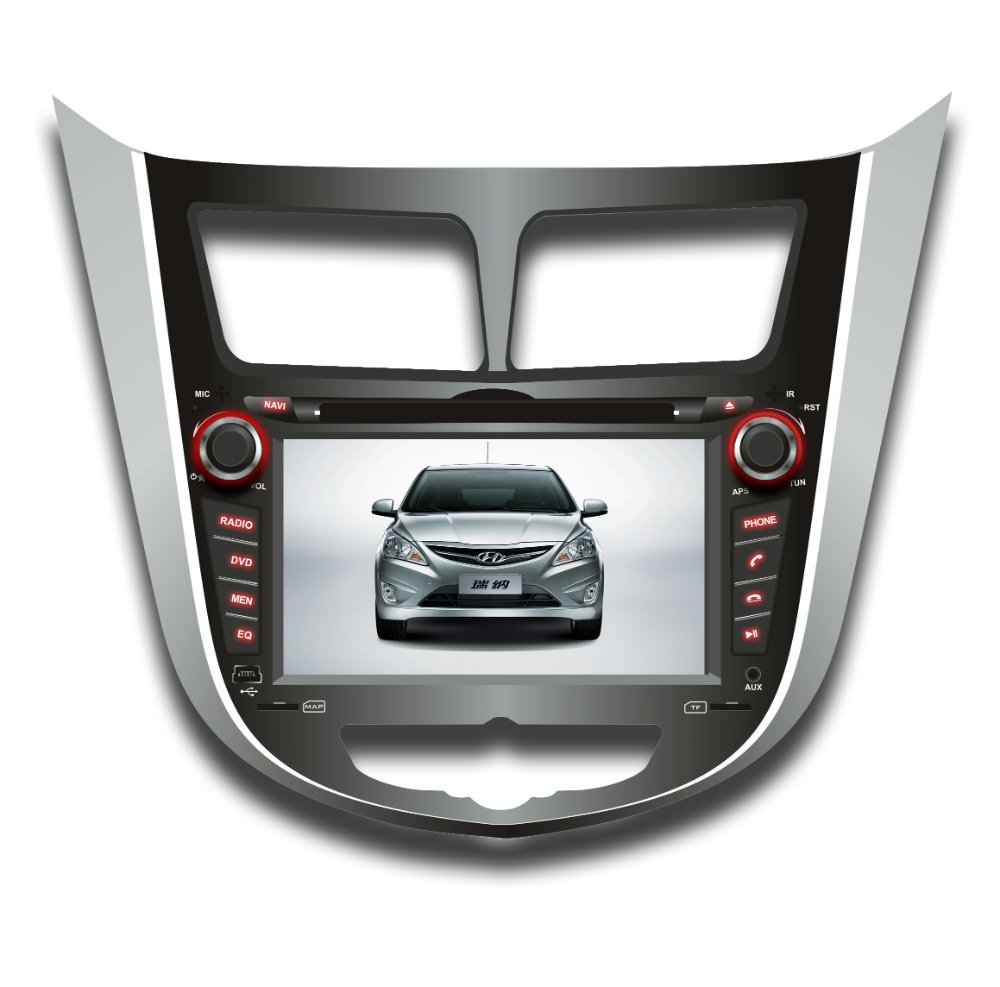 "7"" Redio GPS For  HYUNDAI Verna"