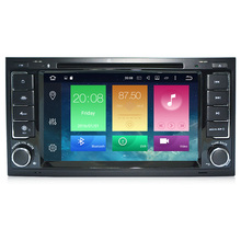 Android 6.0 Two Din 7 Inch Car DVD Player For Touareg/Volkswagen With Dual Channel Can bus 3G/4G Wifi GPS Navigation Bluetooth