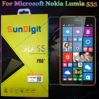 Nanometer 9H 0 26mm For Microsoft Nokia Lumia 535 Tempered Glass Screen Protector Protective Film Steel