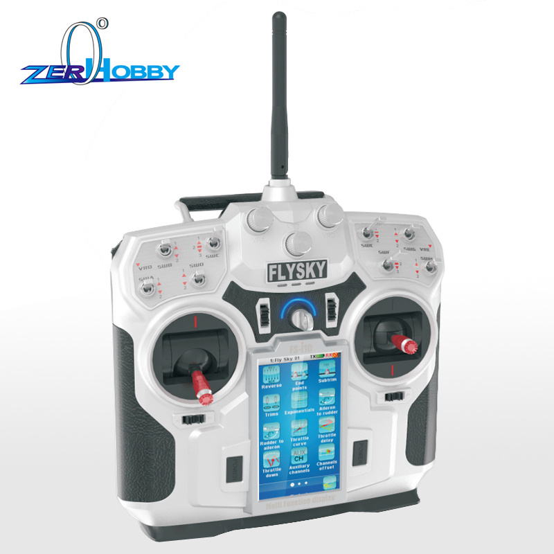 FlySky FS-i10 10 CH LCD Transmitter + iA10 Receiver  AFHDS 2.4GHz For Airplane Model 2