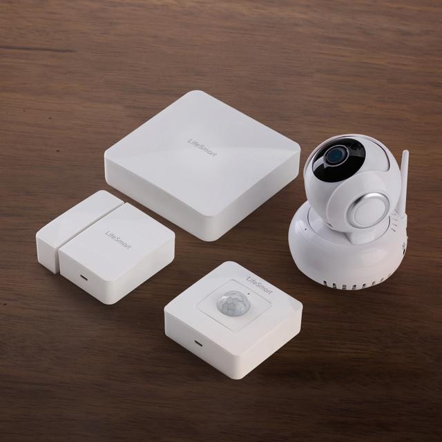 LifeSmart Kit De Automação De Segurança Casa Inteligente Controle Remoto Sem Fio WI-FI IP Plugue Porta Detector De Sensor De Movimento Sistema de Combinação