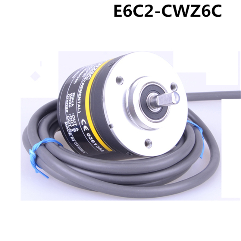 Incremental Rotary Encoder 5 24VDC OPEN ABZ PHASE 1000 720 600 500 400 360 300 200
