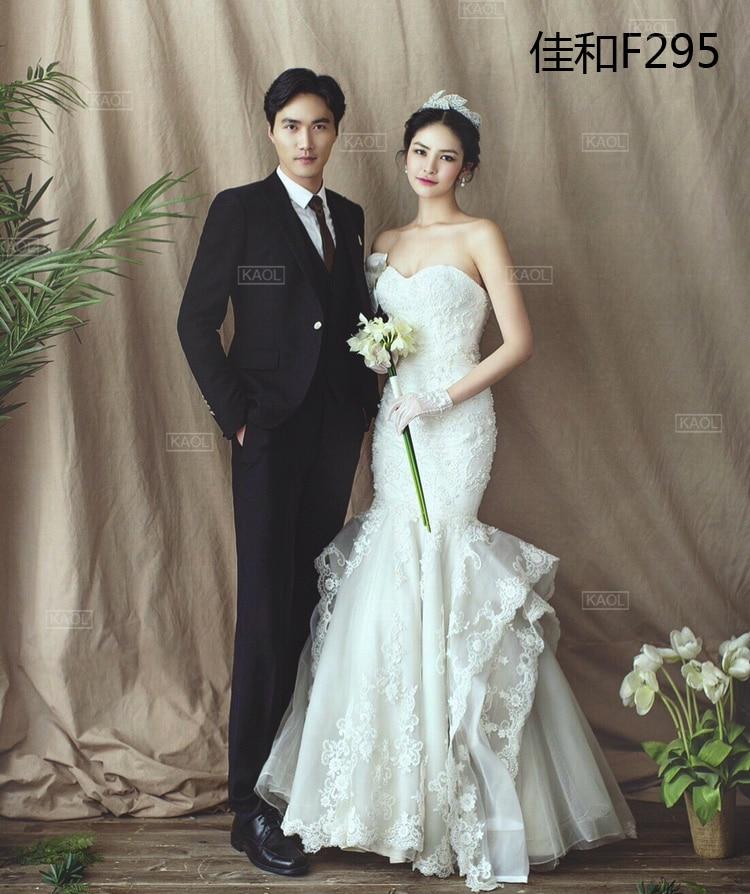 Nouveau fond de mariage cravate teints mousseline décors pour studio de photographie peint à la main famille portrait photographie décors F295