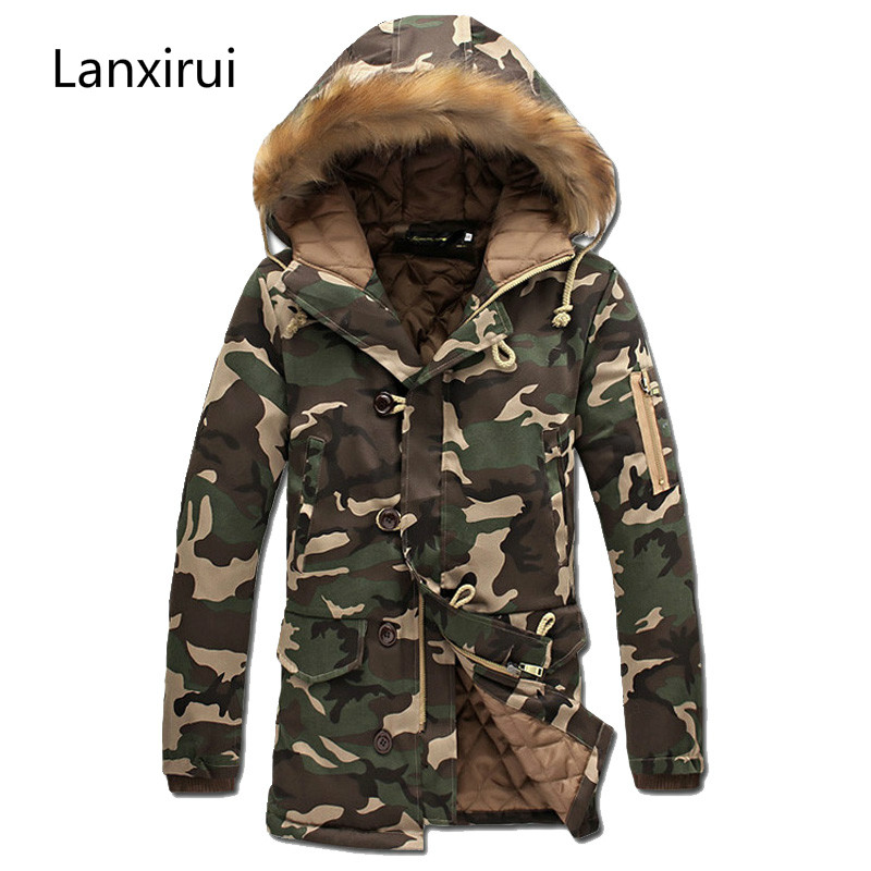 2018 Men Jacket Casual Winter Men Jackets Jackets And Coats Thick   Parka   Fashion Men Coat Plus Size S -5xl Thick Warm Jacket Men
