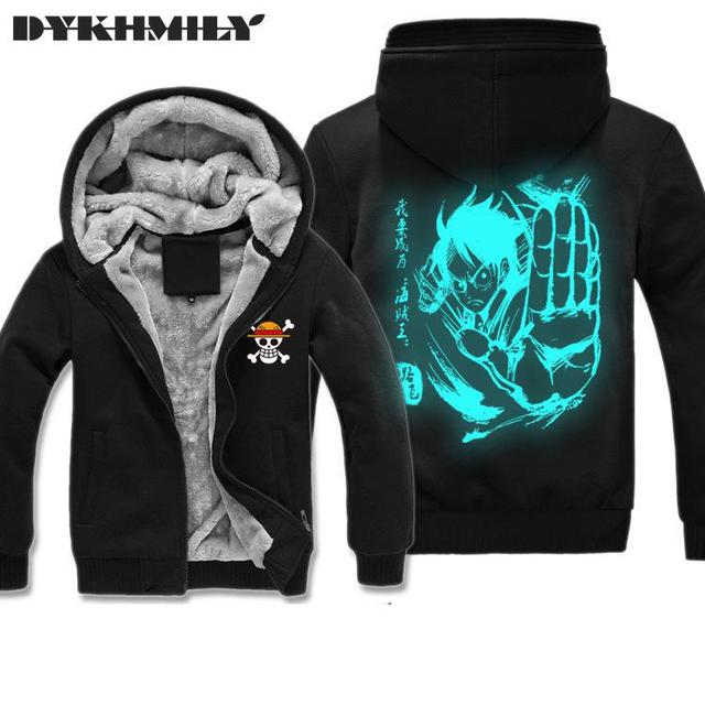 One Piece Men Printed Hoodie