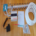 mobile phone DCS signal booster 1800mhz DCS signal repeater LTE signal amplifier LCD display with 18dbi yagi full set