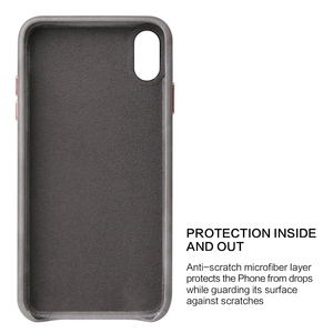 Image 3 - Eqvvol Luxury Leather Case For iPhone 8 7 Plus 6 6s Solid Color Cover For iPhone X XS MAX XR Soft Edge Cases Hard PC Cover Coque