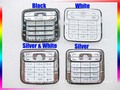 Black/White/Silvery/White & Silver 100% NEW Original Housing Home Keypads Keyboards Cover For Nokia N73 Free Shipping