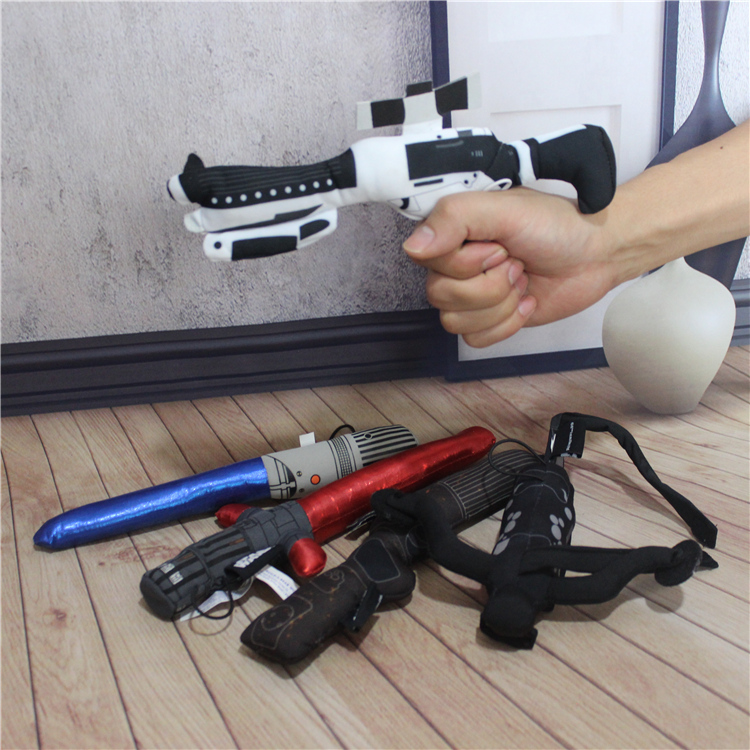 1pcs Star Wars lasersword toys classic Star Wars toy for kid scalable Darth Vader lightsaber Stormtrooper weapons plush toys