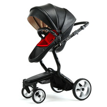 Baby Stroller High Landscape Two-way Reclining Baby carriages Lightweight Four Wheel Luxury Bebe Baby Carriage FOOFOO-1