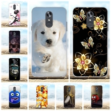 For LG Q Stylo 4 Q710MS Case Soft Silicone For LG Stylo 4 Plus Cover Scenery Patterned For LG Q Stylus Plus Q Stylus Alpha Coque цена