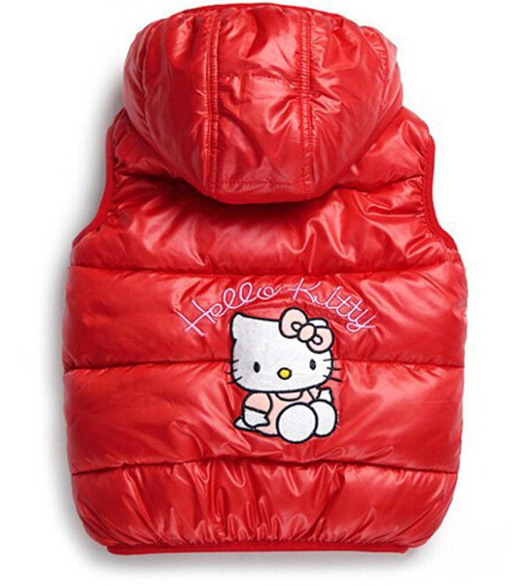 2018 barn vinter Ytterkläder Coats Hello Kitty Girls vestjacka - Barnkläder - Foto 3
