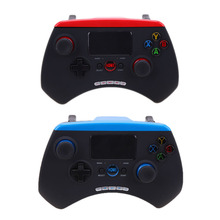 VODOOL Red or Blue Colors Bluetooth Game Controller with Touchpad for Android IOS Play Game