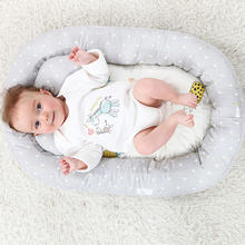 Foldable Baby Bed Lit Bebe Breathable Lounger Sleeping Cotton Portable Crib Travel For Bedroom Bionic Kid Nest