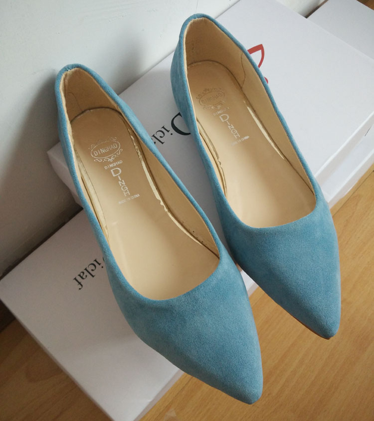 2016 Fashion Women Shoes Woman Flats high quality suede Casual Comfortable pointed toe Rubber Women Flat Shoe Hot Sale New Flats new 2016 spring autumn summer fashion casual flat with shoes breathable pointed toe solid high quality shoes plus size 36 40