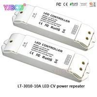 LT-3010-10A CV LED CV vermogen repeater (versterker) accepteren pwm 10A * 1CH output DC5-24V voor enkele kleur strip