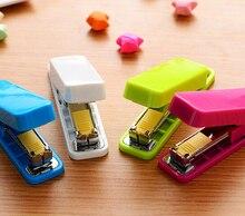 Мини-степлер grampeador скобы степлер каваи конфеты школьные принадлежности канцелярские стиль набор