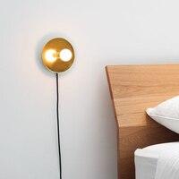 Настенный светильник Lamparas De Techo Pared аппликация Murale светильник plafonniсветодио дный led Moderne блеск настенный светильник Wandlamp потолочный домашний