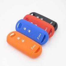 Silicone Rubber Key FOB Case Cover Cap Set for Mazda 2 3 5 6 CX5 CX-5 M2 M3 M5 M6 GT Smart Remote Protect Cocolockey