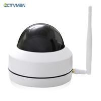 CTVMAN Security PTZ Cameras Dome Pan Tilt Zoom 3X Camera Wifi Outdoor Network Wireless 720P 960P
