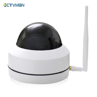 CTVMAN Security PTZ Cameras Dome Pan Tilt Zoom 3X Camera Wifi Outdoor Network Wireless 720P 960P
