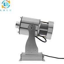 Нержавеющий со специальным эффектом 80 Вт светодиодный проекционная лампа с блендой рекламы 10000lm Натяжной канат длиной 25 м компании для проецирования логотипов светодиодный изображение логотипа проектор